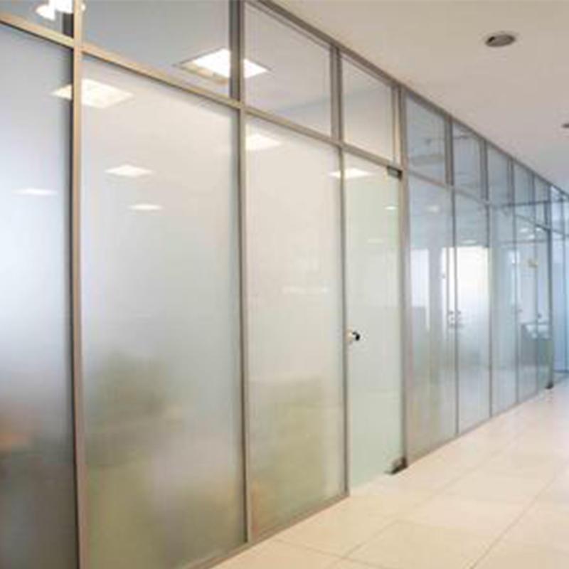哈尔滨白钢玻璃隔断
