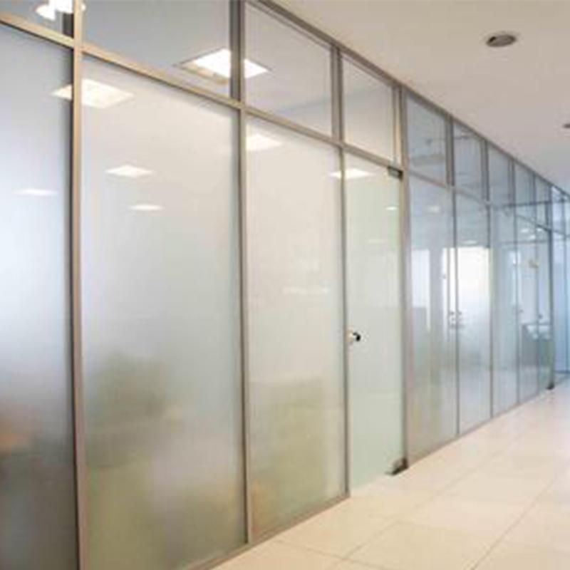 白钢玻璃隔断