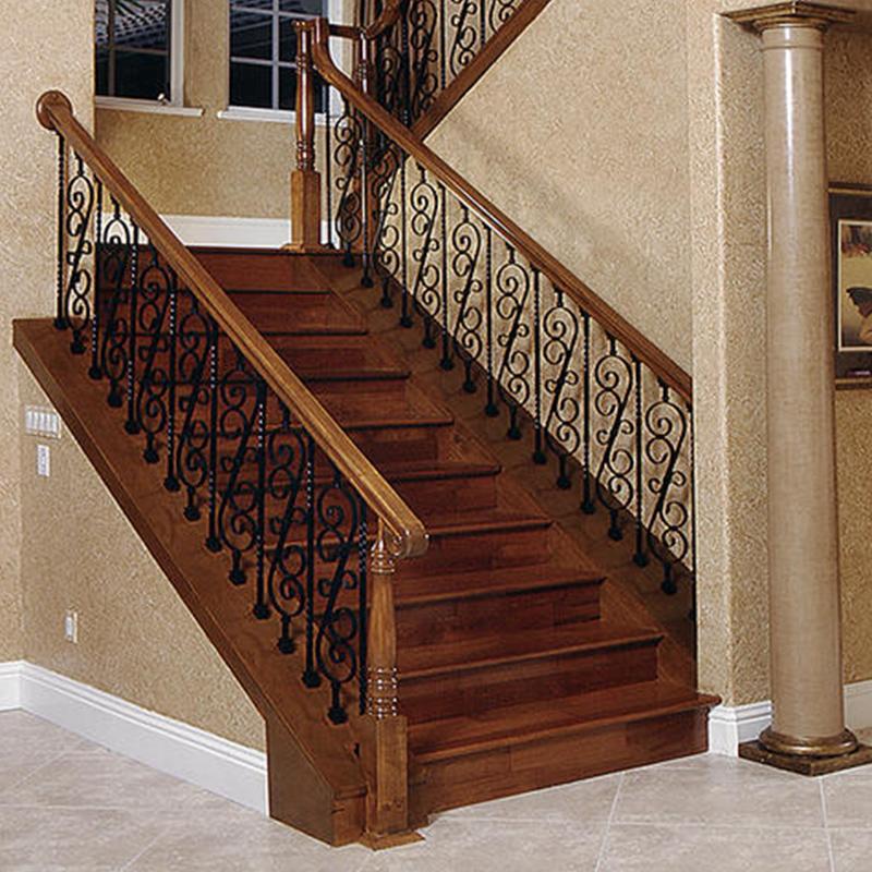 哈尔滨实木楼梯安装